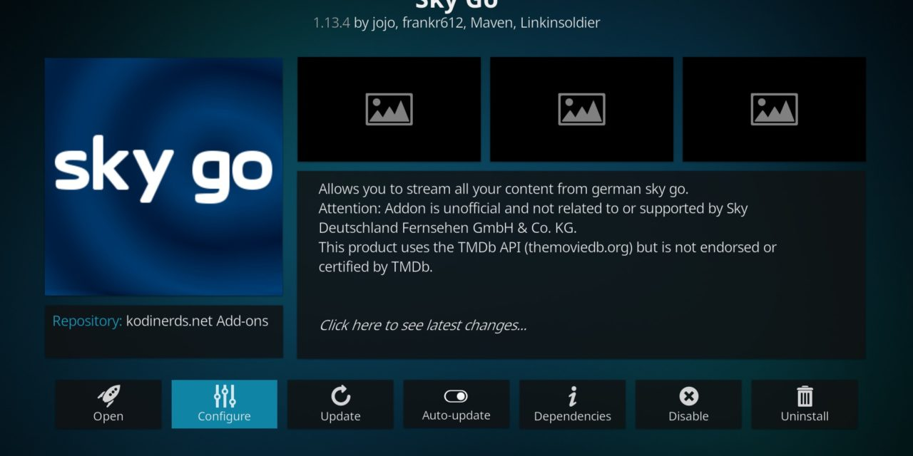 Sky Go auf dem Fire TV – September 2020